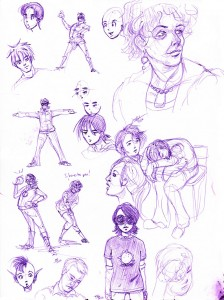 Sketch Book Page 3-13-11